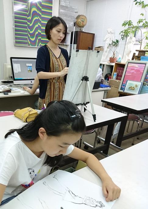 アトリエ、教室風景