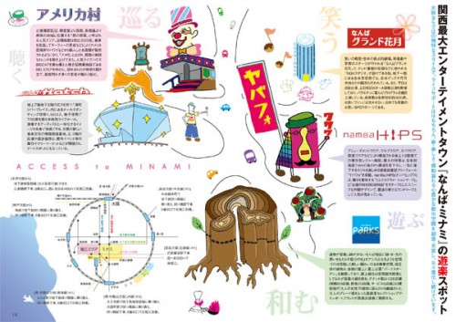 大阪「堀江」ガイドブック