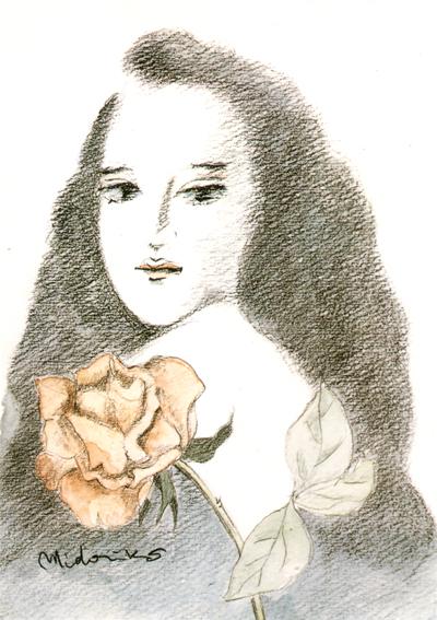 薔薇と乙女